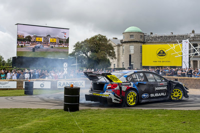 SUBARU AND TRAVIS PASTRANA SECURE SECOND OVERALL AT GOODWOOD FESTIVAL OF SPEED HILLCLIMB SHOOTOUT