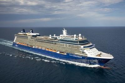 Celebrity Equinox at sea