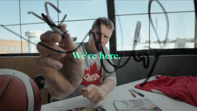 """The Canadian Paralympic Committee launched its new """"We're Here"""" campaign ahead of the Tokyo and Beijing Paralympic Games featuring Paralympians Patrick Anderson (pictured), Katarina Roxon, and Tyler McGregor. Photo (CNW Group/Canadian Paralympic Committee (Sponsorships))"""