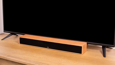 The Flagship ZVOX AV357 Dialogue Clarifying Sound Bar Helps Consumers Understand the TV programming dialogue clearly without blasting the volume of the TV.