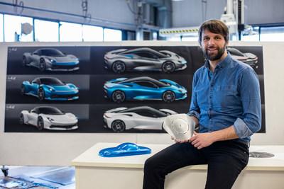 Automobili Pininfarina Chief Design Officer Luca Borgogno